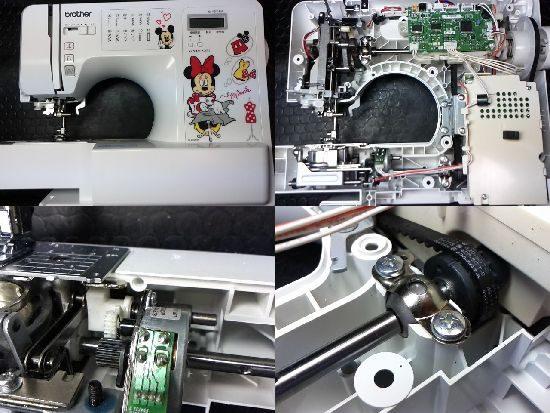 ブラザーCPV7205のミシン修理