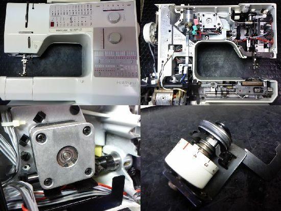 リッカーホリデーヌ1240のミシン修理