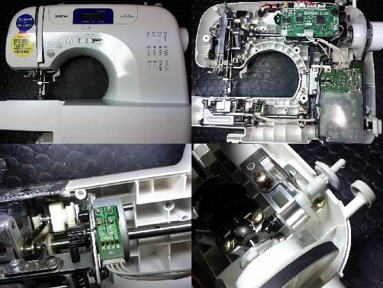 ブラザーCPS40のミシン修理