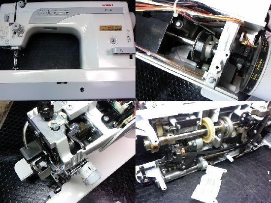 ジャノメHS-80のミシン修理
