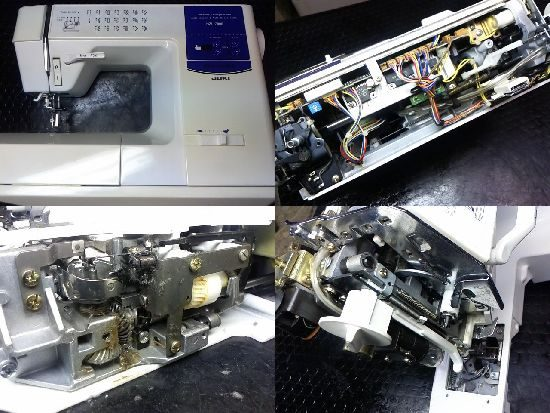 JUKI HZL-7800のミシン修理