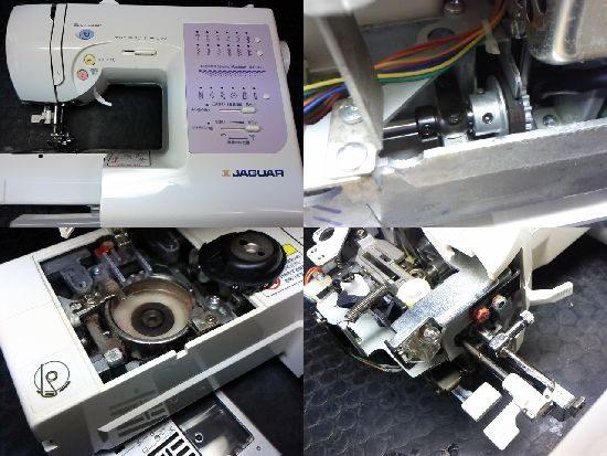 ジャガーJI-1105のミシン修理