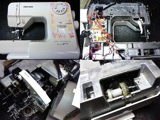 ジャガーKD-850のミシン修理