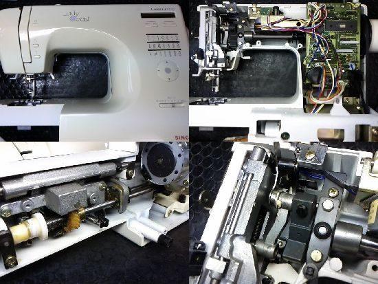 シンガー9600のミシン修理