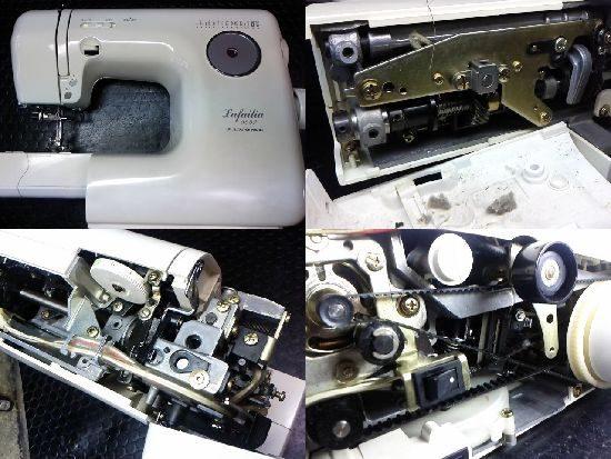 ジャノメLafailia5550のミシン修理