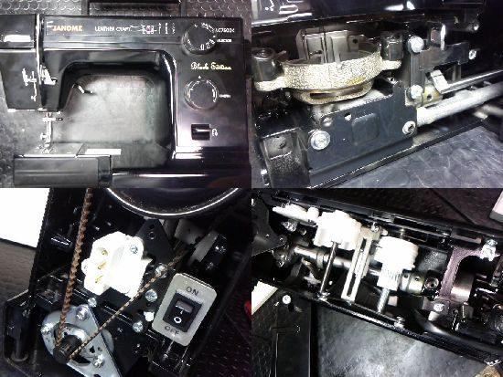 ジャノメ731型のミシン修理