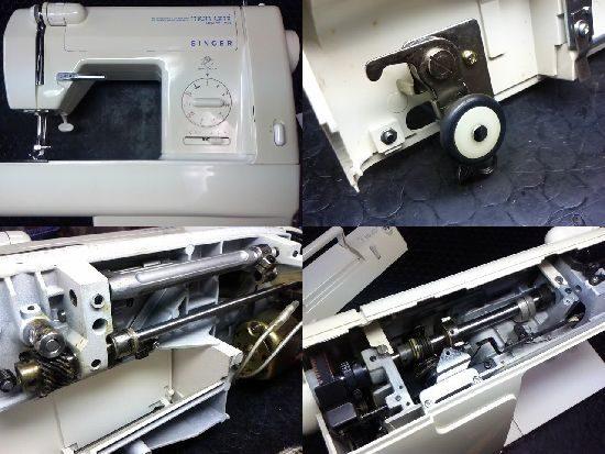 シンガーモナミNEW DX 1730のミシン修理
