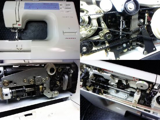 ジャノメプレール918のミシン修理