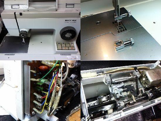 リッカーマイティA-303のミシン修理