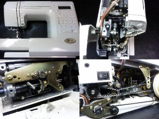 ジャノメS7702のミシン修理