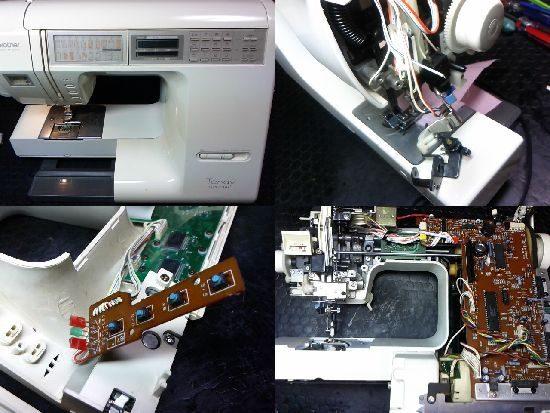 ブラザーテンディスペシャルのミシン修理