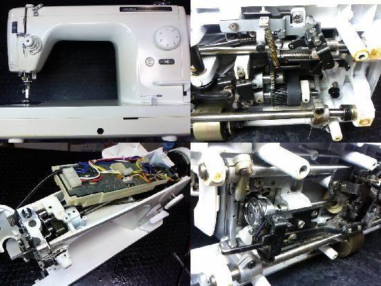 シュプール98デラックスのミシン修理