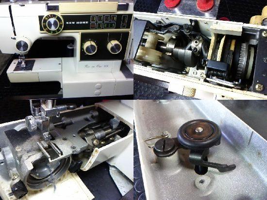 ジャノメツーインワンDXのミシン修理