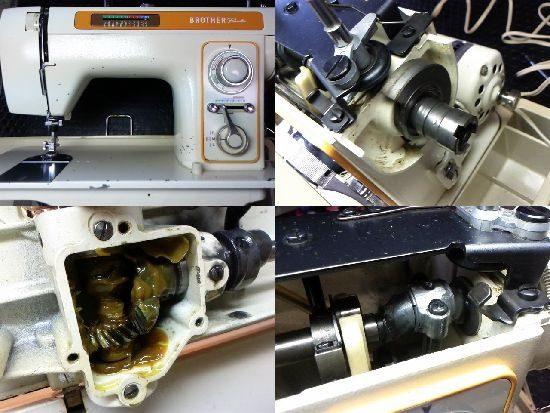 ブラザーペースセッター611のミシン修理
