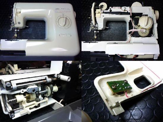 ブラザーソワレ575のミシン修理