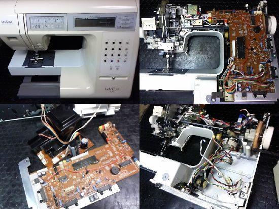 ブラザーLeMIEUX7000のミシン修理