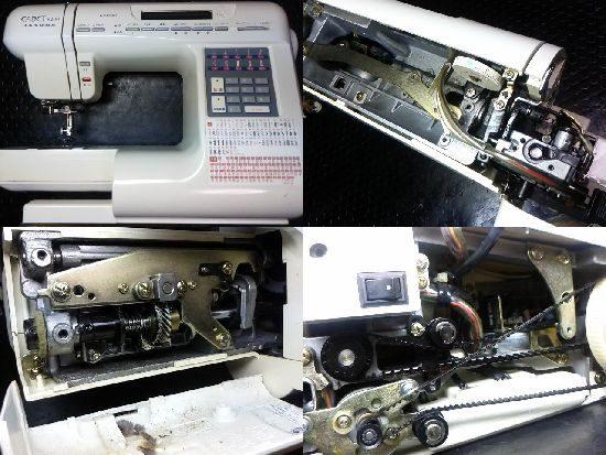 ジャノメカデット5200のミシン修理