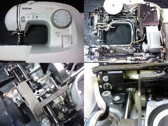 ブラザーEL127のミシン修理