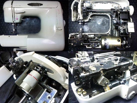 トヨタEM951のミシン修理