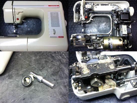 トヨタEM954のミシン修理