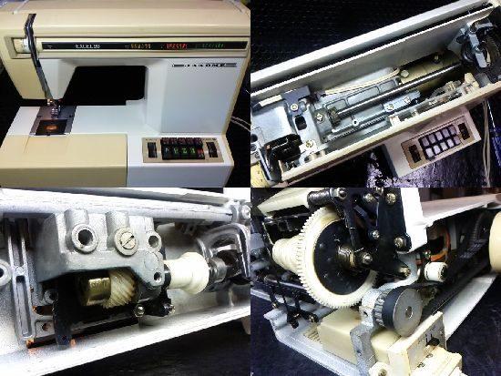 ジャノメエクセル20のミシン修理