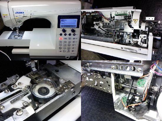 エクシードHZL-F600JPのミシン修理