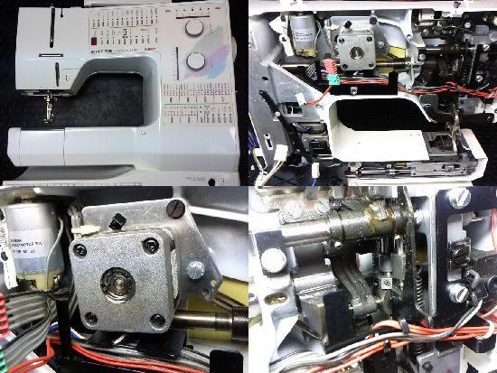 リッカーホリデーヌ1241のミシン修理