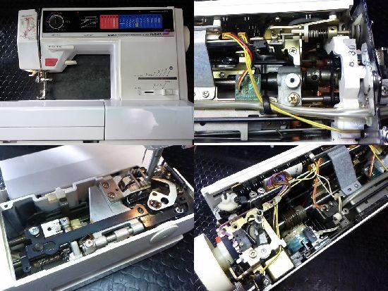 JUKIフローラSのミシン修理