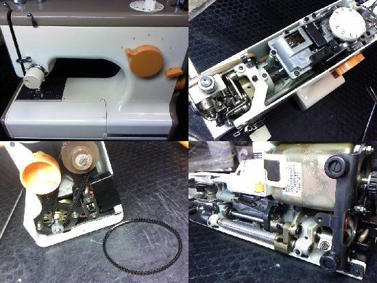 ジャガーメイトマーク2のミシン修理