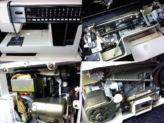 メモリア5002のミシン修理