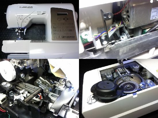 ジャガーJTA-3300Wのミシン修理