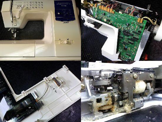 HZL-7800のミシン修理