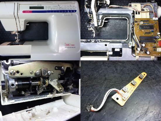 ジャノメリリオ5000のミシン修理