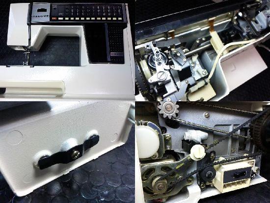 ジャノメメモリア5001のミシン修理