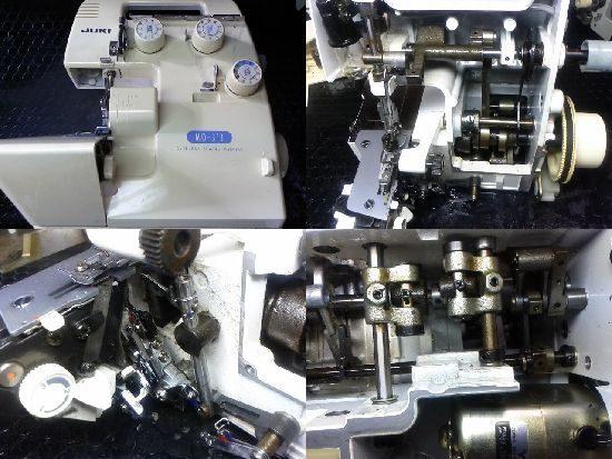 JUKI MO-313のミシン修理
