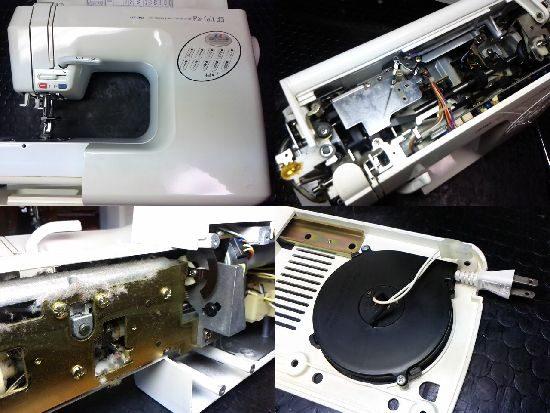 JUKIパルフェ35のミシン修理