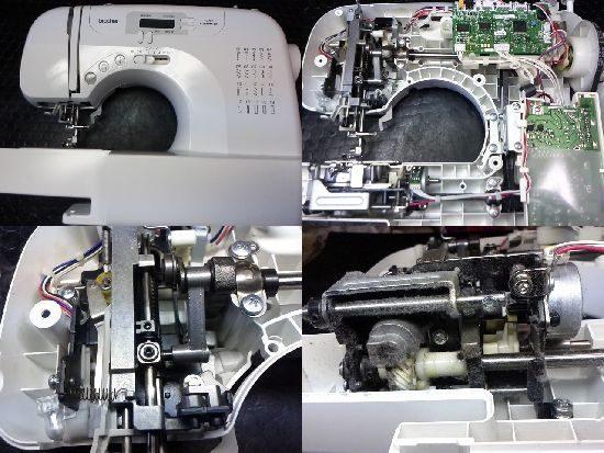 ブラザーPS205のミシン修理