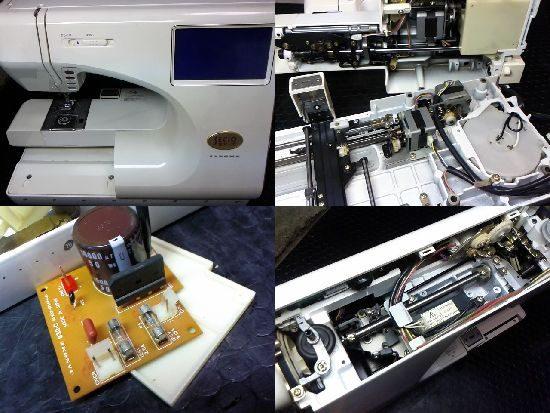 ジャノメセシオEX3のミシン修理