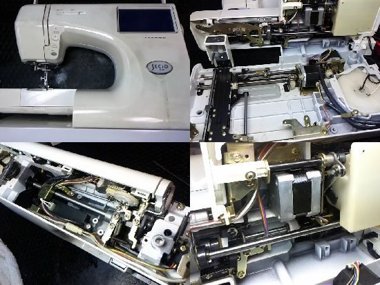 ジャノメセシオEXのミシン修理