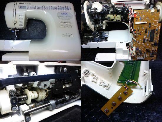 ブラザーSOREILのミシン修理