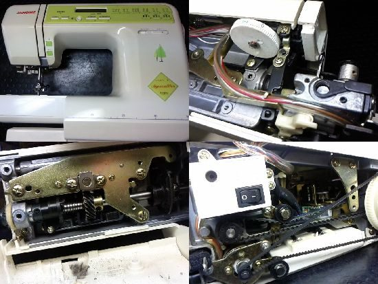 ジャノメY2020のミシン修理