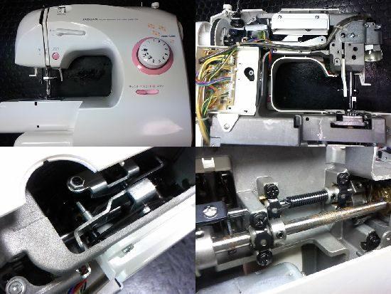 ジャガーYJ-008のミシン修理