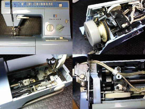 ブラザーコンパルエース2のミシン修理