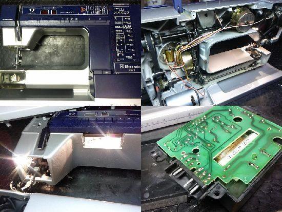 エレクトロラックスプリズマ990Sのミシン修理