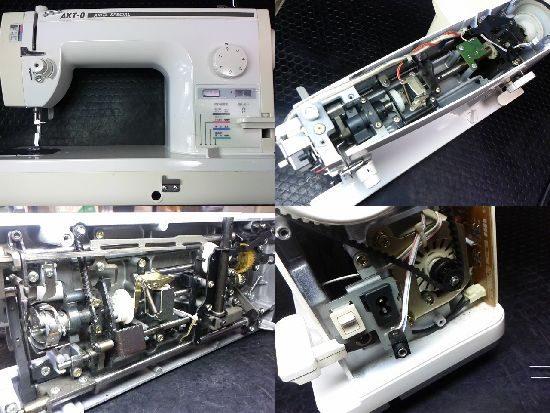 ブラザーAKT-8のミシン修理
