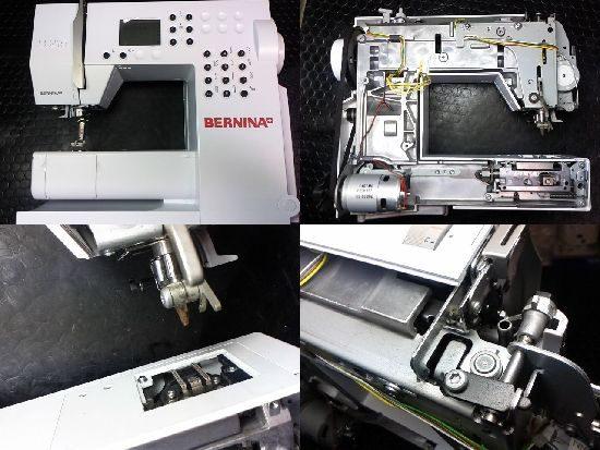 ベルニナB215のミシン修理