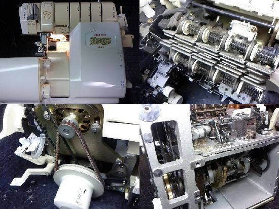 縫工房BL75のミシン修理