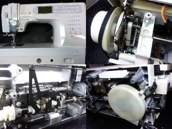 ジャノメCK1100のミシン修理画像