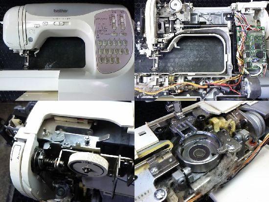 ブラザーCPS52のミシン修理