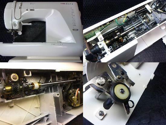 シンガーモナミecru1860のミシン修理